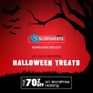 Scopehosts Halloween Offers