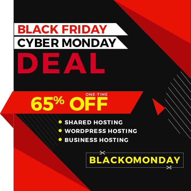 BlackFriday Hosting Sale