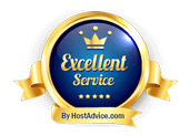 Scopehosts Hosting was awarded a badge for its excellent service