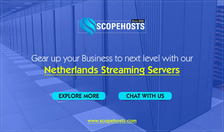 Netherlands Streaming Servers