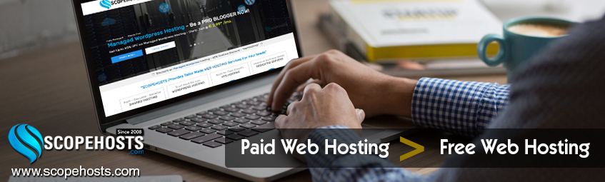 Know which is best for your Business,either free hosting or paid hosting.