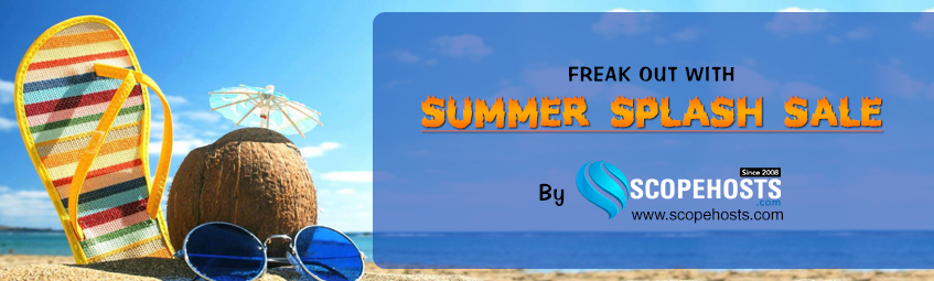 ScopeHosts has rolled out summer splash sale on varied web hosting services. Check out the best web hosting deals.