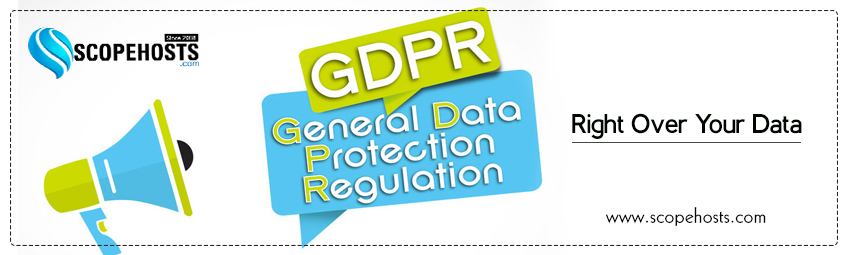 GDPR, the new data protection law is applicable from May 25, 2018 to all the European citizens.