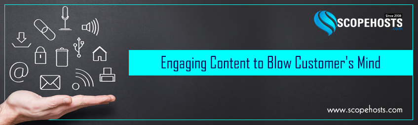 Curate content to engage customers on social media.