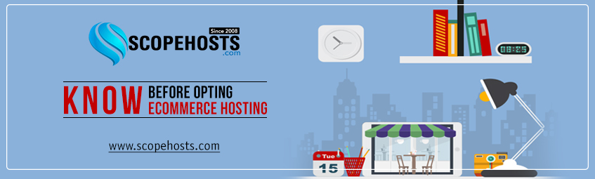 Know the detailed factors to be considered before opting ecommerce hosting service to host ecommerce store.