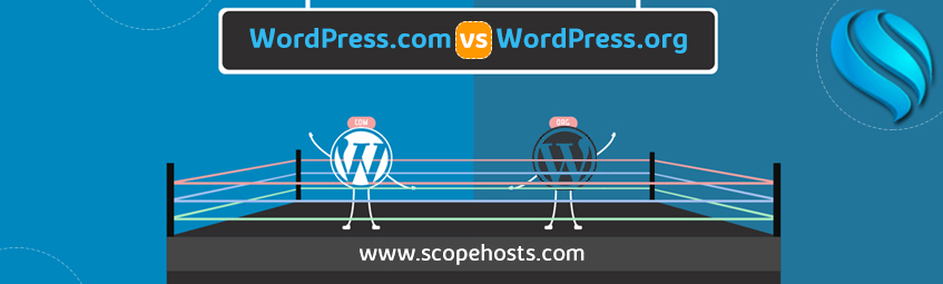 Know the basic key differences with WordPress.com and WordPress.org