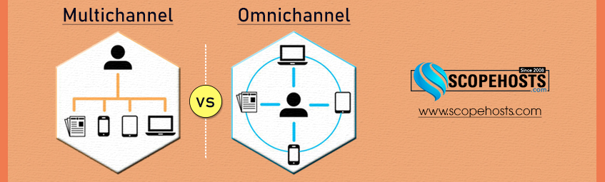 Know the 6 key Differences between  Multichannel and Omnichannel and implement these as your business Strategy