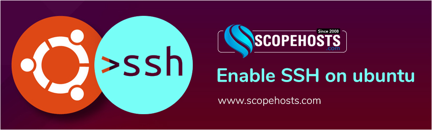 For Ubuntu beginners, this quick tutorial of Sopehosts will show you how to enable the SSH(Secure Shell) service on Ubuntu 18.04.
